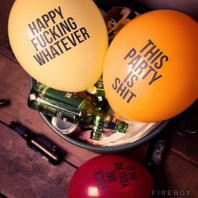 Abusive Balloons 12 Brutally Honest Party Essentials