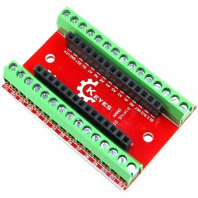 Arduino Nano Screw Terminal Breakout Genuine Keyes Shield Flux Workshop