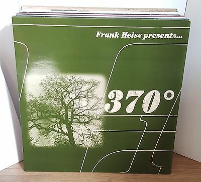 FRANK HEISS Presents.... 370° DBL LP OG UK 1997 BREAKS/TECHNO VINYL 370 DEGREES