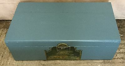 Antique  Painted  Blanket Box Small