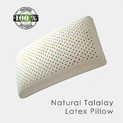 Return Damaged Package Z Zoned Talalay Latex Pillow with 100/% Cotton Cover