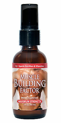 Muscle Growth - MUSCLE BUILDING FACTOR SPRAY -  Immune System Boost - 1B