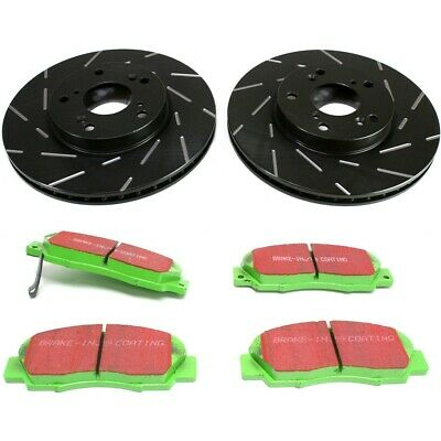 EBC 2-Wheel Set Brake Disc and Pad Kits Front New for Honda S2KF1337