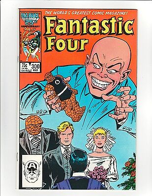 Fantastic Four #300 - 9.6 Near Mint + High Res Scans! Free Shipping!