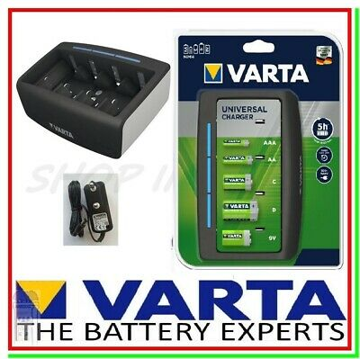 Caricabatterie per Pile Ricaricabili VARTA UNIVERSAL CHARGER Caricatore Batterie