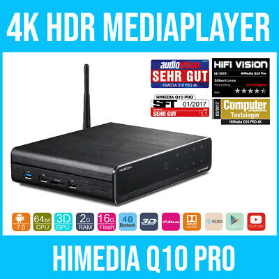 HIMEDIA™ Q10 PRO 4K (Ultra HD) HDR & 3D Mediaplayer / Android Smart TV Box