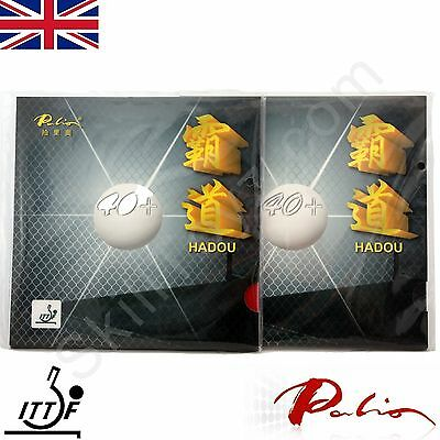 2 x Palio Hadou 40+ Table Tennis Rubbers Pips in ITTF approved 40-42°  UK SELLER