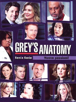 Grey's Anatomy - Stagione 6 (6 DVD) - ITALIANO ORIGINALE SIGILLATO -