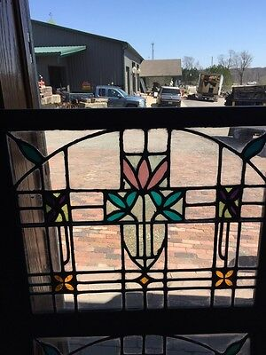 Sg 782 Four Available Price Separate Antique Stainglass Windows