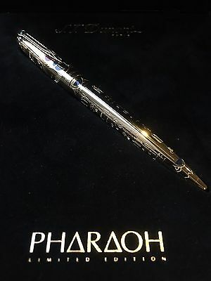 St Dupont Pharaoh Ballpoint Pen Yellow Gold, Lacquer Limited Edition Bnib