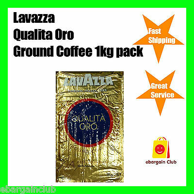 Lavazza Qualita Oro Ground Coffee 1kg Pack