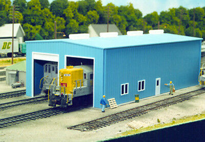 Pikestuff 0008 – Enginehouse Kit (1 or 2 Door) – HO Scale