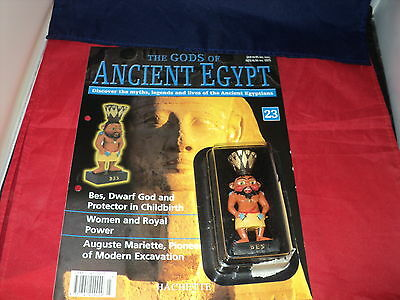 Hachette The Gods of Ancient Egypt - Issue 23 - Bes - dwarf god & protector in c