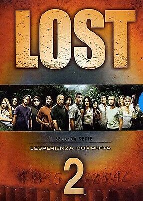 Lost - Stagione 2 (8 DVD) - ITALIANO ORIGINALE SIGILLATO -