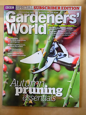 Gardeners World Subscriber Edition Nov 2012 Autumn PruningmRoot Cuttings