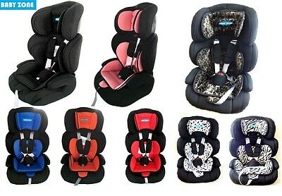 New 3 In 1 Child Baby Car Seat Safety Booster For Group 1/2/3 9Kg To 36Kg
