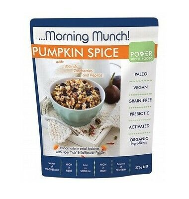 Power Super Foods Pumpkin Spice Morning Munch 275g