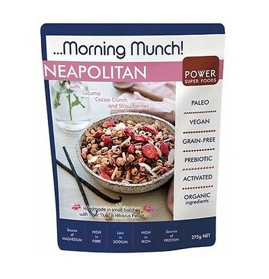 Power Super Foods Neapolitan Morning Munch 275g
