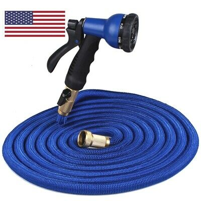 Expandable Magic Flexible Garden Hose 200 ft  With Spray Gun