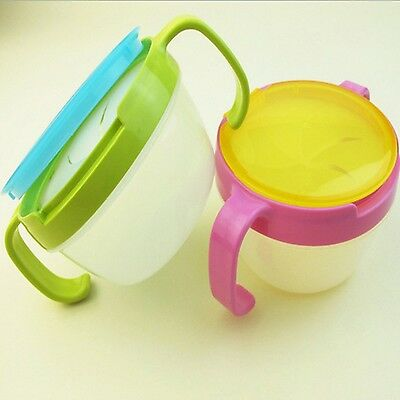 1 Pcs Baby Toddler Kids Snack Food Keeper Pod Container Cup Drink Traveling