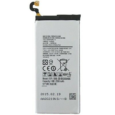 New EB-BG920ABE 2550 mAh Internal Replacement Battery for Samsung Galaxy S6 S VI