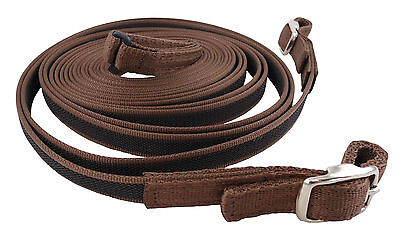 Libby's Double Sided Rubber Grip Driving Reins