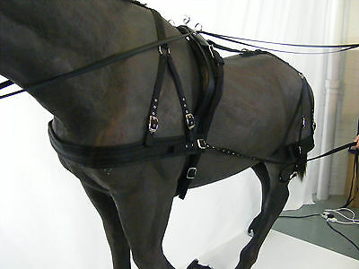 Libby's Basic Driving Harness + Reins (Miniature to Extra Full)