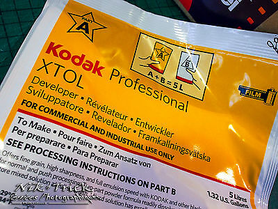 Kodak Xtol Professional B&W Film Developer ~ Best Quality Results With This!
