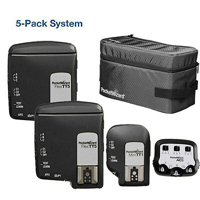 PocketWizard TTL Wireless Radio Super 5-Pack All-In-One System for Nikon i-TTL