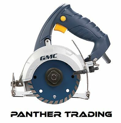 GMC 1250W Wet Stone Cutter 110mm Hand Held Marble Tile Polishing Grinder  263288