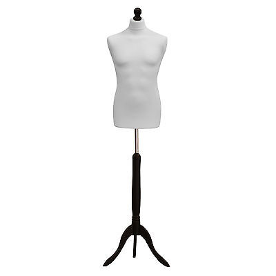 ❤ Size 40 Male Tailors Dressmaker Mannequin Bust Fashion Dummy Retail Display