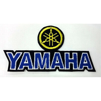 Yamaha Motorcycle Rider Bikers  Embroidered Sew/Iron On Patch Patches