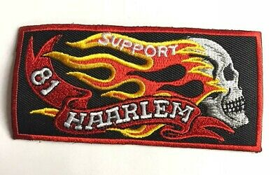 Choppers Cross Motorcycle Rider Biker Embroidered Sew/Iron On Patch Patches