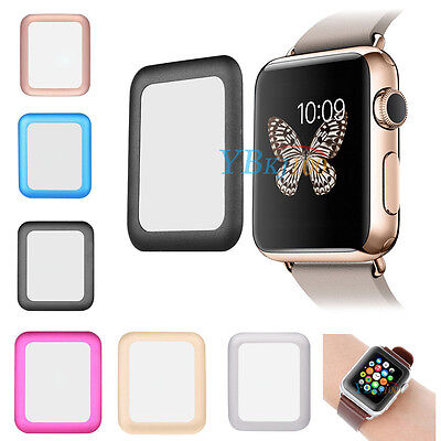 Full Premium Tempered Glass Screen Protector For iPhone Watch iWatch 38mm & 42mm
