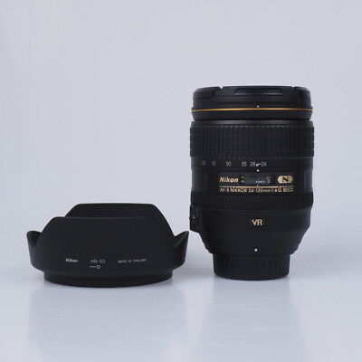 Brand New Nikon Nikkor Af-S 24-120Mm F/4G Ed Vr Lenses (White Box)