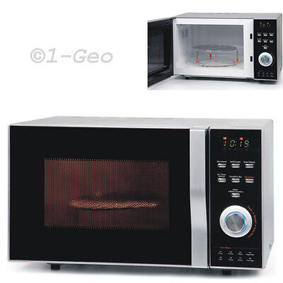 Convector Kombi Microwave 23L Hot air Grill convection oven up to 200°C silver