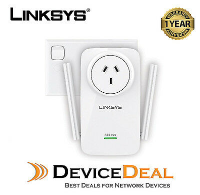 LINKSYS RE6700 AC1200 Amplify Dual-Band Wi-Fi Range Extender with Spot  Finder