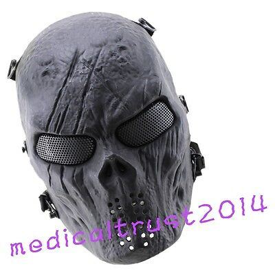 Tactical Paintball for Army-Protection Mask of Full Face-New Skull Skeleton