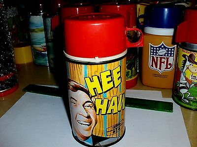 Hee Haw`1970`Hit Tv Show-Buck Owens`Metal Lunch Box-Thermos`Very Nice->Free 2 US