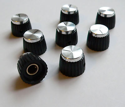 Silver Knob grub screw pack of 8 for Marshall Jubilee amplifier amp knobs