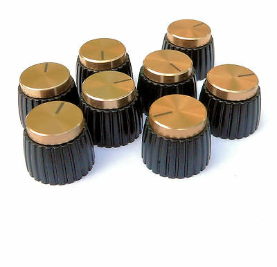 Gold Knob for Marshall Amplifier pack of 8