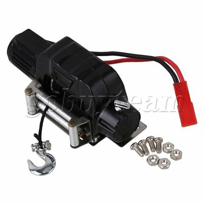 74x32x32mm Black N10197 Crawler Electric Winch Control System for HSP RC1:10 Car