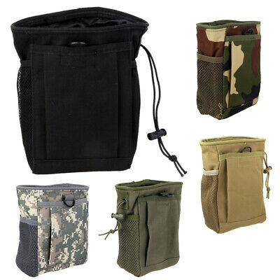 Outdoor Tactical Military Hiking Molle Utility Waist Belt Fanny Pack Pouch Bag