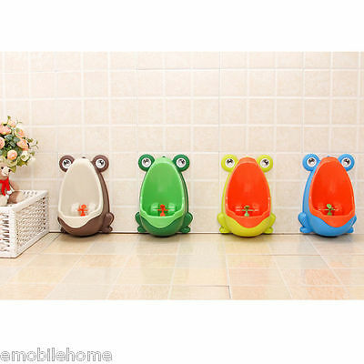 Frog Children Potty Toilet Training Kid Urinal For Boy Pee Trainer Light Surface