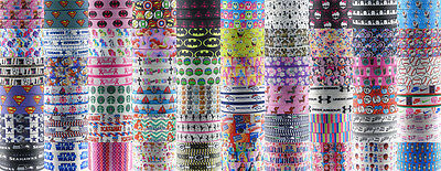 Wholesale! 1/5/10yds 7/8'' (22mm) printed grosgrain ribbon Hair bow sewing #3