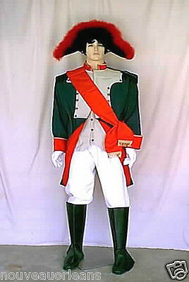 Napoleon Theatrical Quality Military Style Cosplay 7 Piece Costume 1799 to 1815