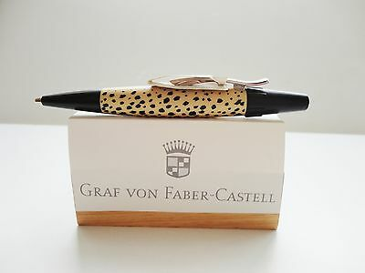 Faber Castell E-Motion Ballpoint Design Cat- Leopard Boxed Sticker New Germany