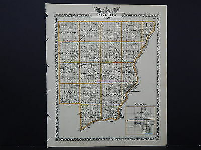 1839 KY MAP WHITLEY WOLFE WOODFORD COUNTY old Kentucky History  HUGE