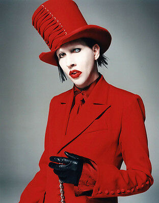 Marilyn Manson UNSIGNED photo - B702 - American musician, songwriter and actor