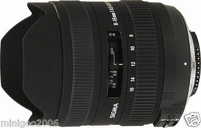 NEW Sigma 8-16mm F4.5-5.6 DC HSM (8-16 mm F/4.5-5.6) Wide Angle Lens Canon*Offer